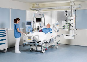Sjukhussäng från Linet.